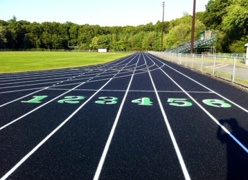 Marshall Middle School, Billerica, MA - After resurfacing